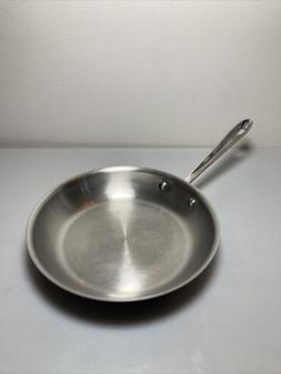 ALL-CLAD 10 Inch Stainless Steel Frying Pan Saute Skillet Fr