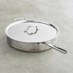 All-Clad 6405 SS  5-Qt Copper Core 5-Ply Saute Pan with Lid