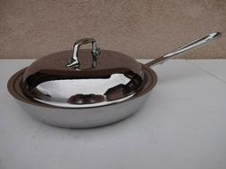 All-Clad D5 9 Inch Stainless Steel French Skillet Fry Saute