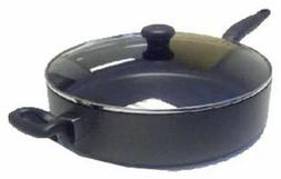 """Mirro Get-A-Grip Nonstick 12"""" Covered Saute Pan, Model A8388"""