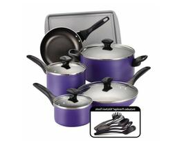 Pots and Pans Set Nonstick Cooking Tools 15 pc Professional