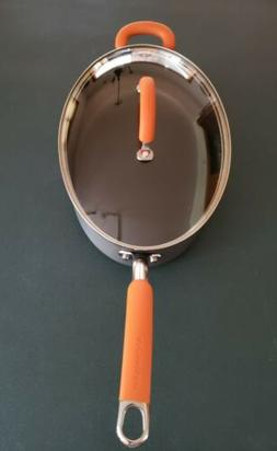 Rachel Ray Large Nonstick Covered Oval Pan 5 Qt Cookware Ora
