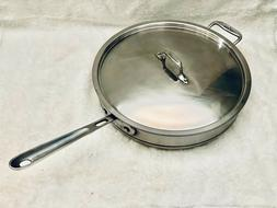 RARE All-Clad Stainless Steel Copper Core 5-Ply Dishwasher S